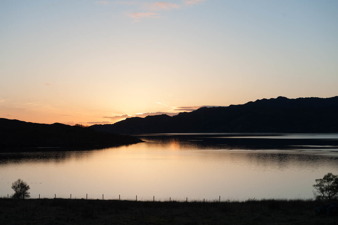 Sunset over Loch Torridon